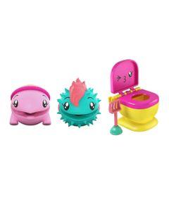 Mini-Figuras-Surpresa---15Cm---Pooparoos---Pacote-Familia---Tartaruga---Mattel-Nova