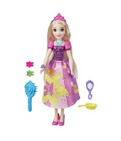 Boneca-Princesas-Disney---35-Cm---Rapunzel-Audaz---Com-Acessorios-Fashion---Hasbro