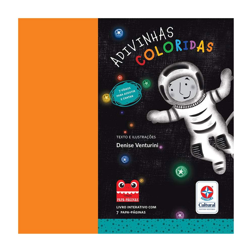 Livro Infantil - Adivinhas Coloridas - Estrela Cultural