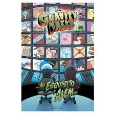 Livro-Infantil---Gravity-Falls---Ao-Esquisito-e-Alem---Universo-dos-Livros