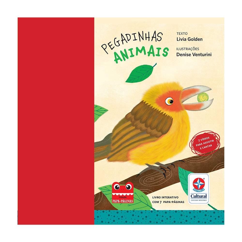 Livro Infantil - Pegadinha dos Animais - Estrela Cultural