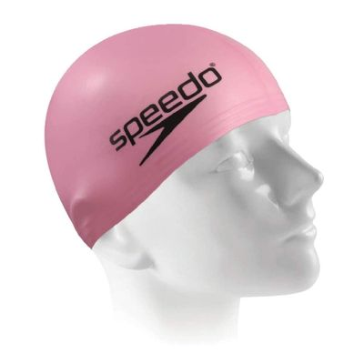 Touca-de-Natacao---Slim-Cap---Pink---Speedo