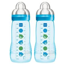 Nova-Mamadeira-Fashion-Bottle---Boys---330ml---Double-Pack---Ursinhos---MAM