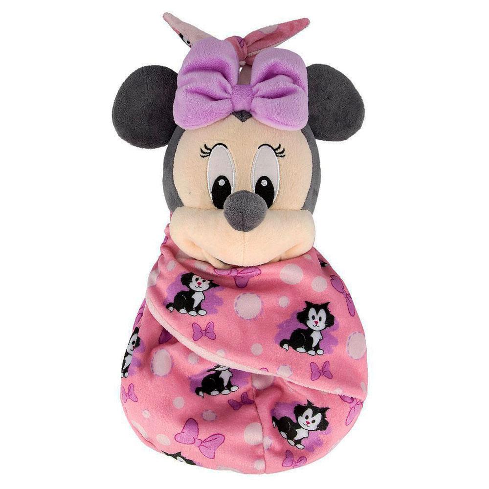 Pelúcia Disney - 28 Cm - Minnie Mouse - Baby - Fun