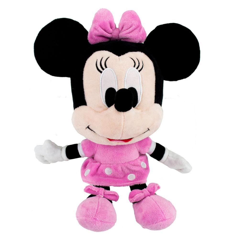 Pelúcia Disney - 28 Cm - Minnie Mouse - Big Head - Fun