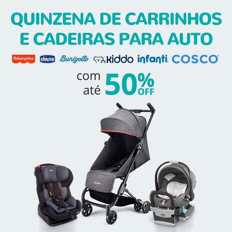01 - Quinzena de Carrinho e Cadeiras para Auto com até 50% Off - FullBanner - Mobile - bb - act