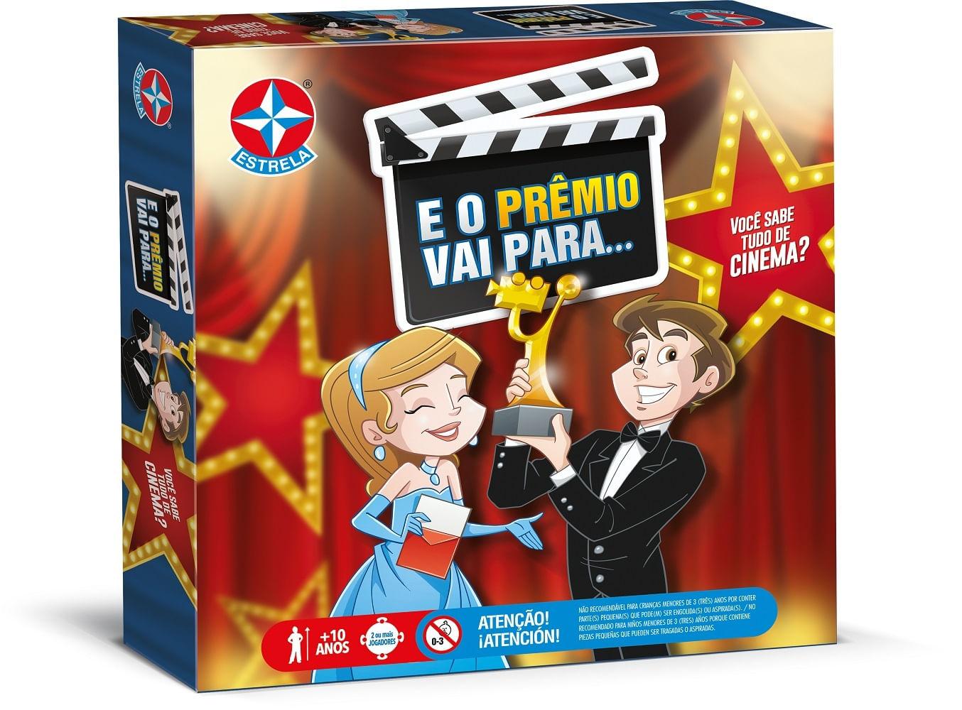 Jogo - E O Prêmio Vai Para - Estrela