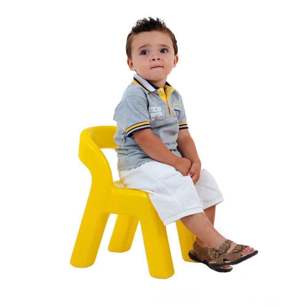 Cadeirinha Infantil - Baby Amarela - Xalingo