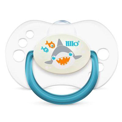Chupeta-com-Bico-Simetrico---Smart-Glow---Tam-1---Azul---Tubarao---Lillo