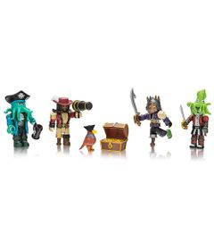 Conjunto-de-Mini-Figuras---Roblox---Pirate-Showdown---4-Figuras---Sunny
