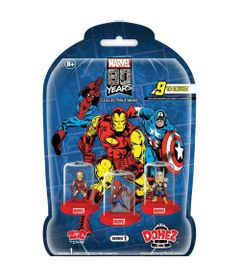 Mini-Figura-Surpresa---5-Cm---Domez---Disney---Marvel---80-Anos---Sunny