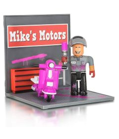 Mini-Playset-com-Figura---Roblox---Mike-s-Motor---Sunny