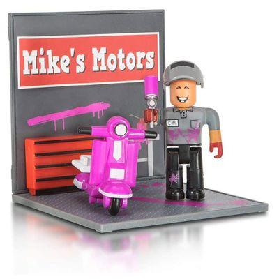 Mini-Playset-com-Figura---Roblox---Mike-s-Motor---Sunny