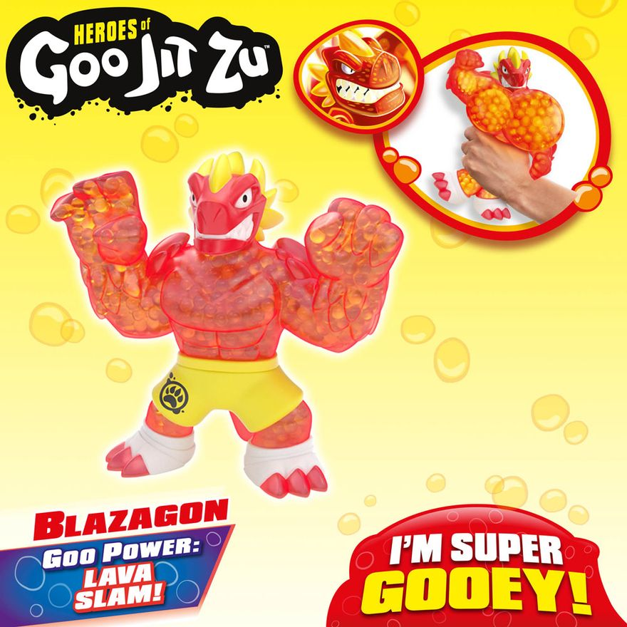 Figura-Elastica---Heroes-Of-Goo-Jit-Zu---Serie-2---Blazagon---Sunny