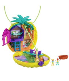 Playset-e-Mini-Boneca---Polly-Pocket---Mini-Estojos-Polly---Abacaxi-Tropical---Mattel-0