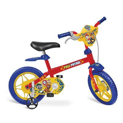 Bicicleta-Aro-12---Patrulha-Canina---Vermelho-Azul-e-Amarelo---Bandeirante-0