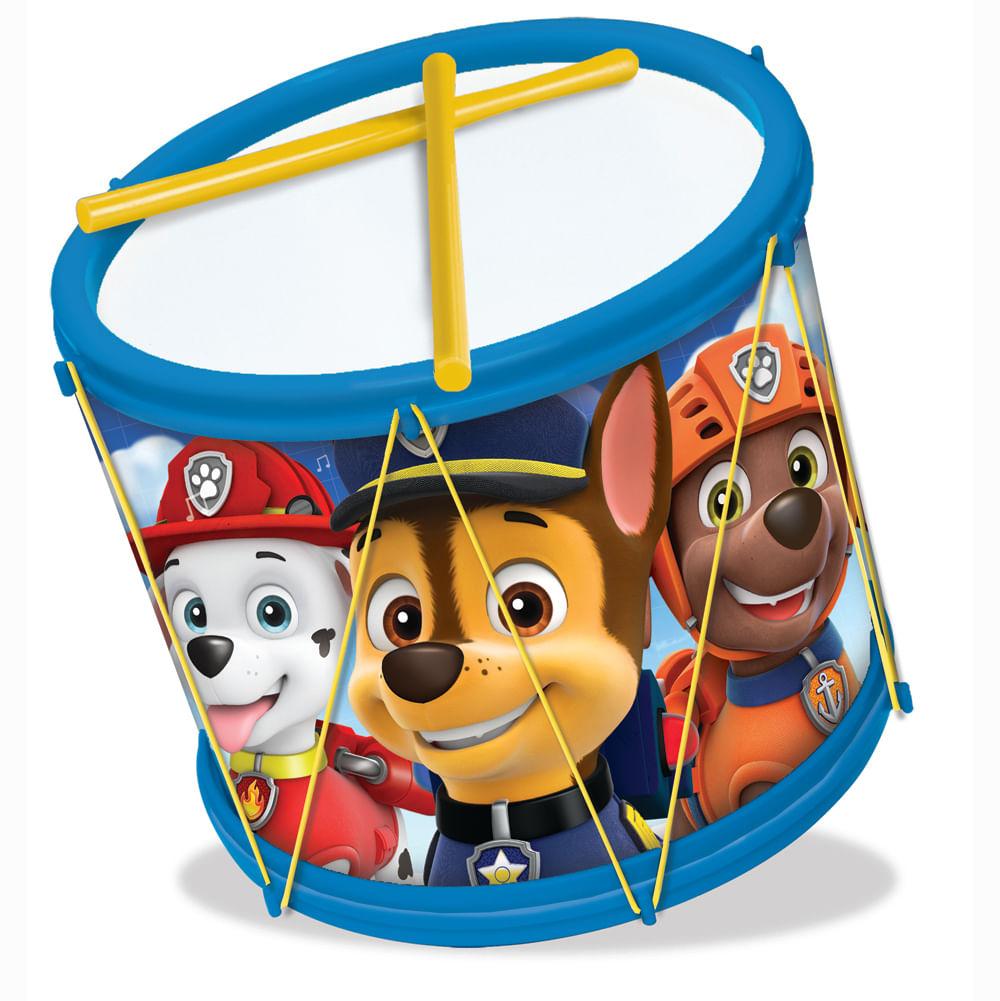 Brinquedo Musical - Bumbo - Patrulha Canina - Elka