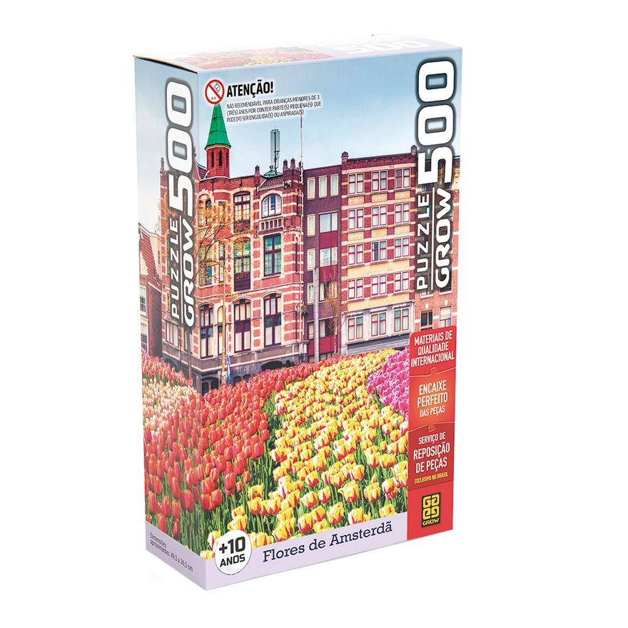 Quebra-Cabeca---500-Pecas---Flores-em-Amsterdan---Grow-0