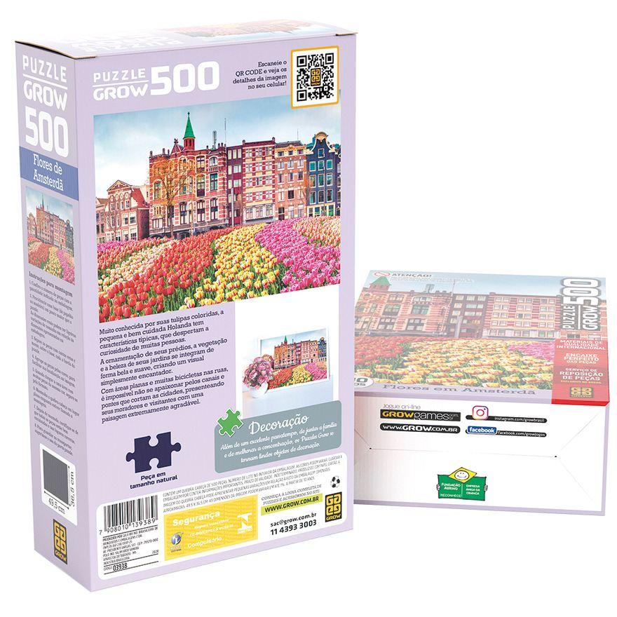 Quebra-Cabeca---500-Pecas---Flores-em-Amsterdan---Grow-1