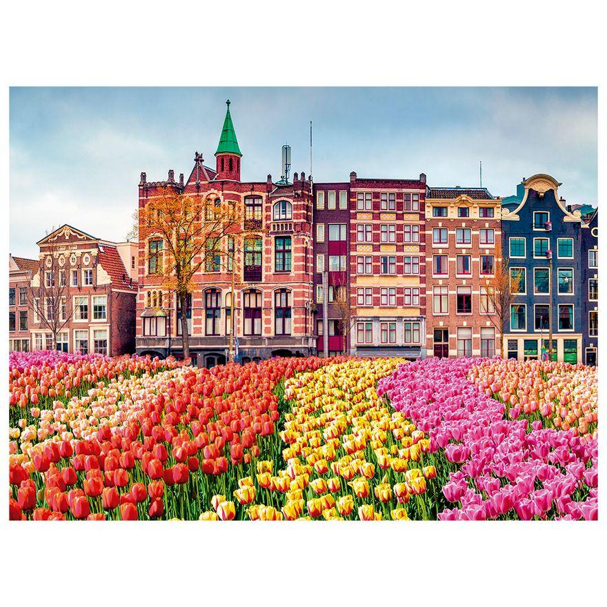 Quebra-Cabeca---500-Pecas---Flores-em-Amsterdan---Grow-2