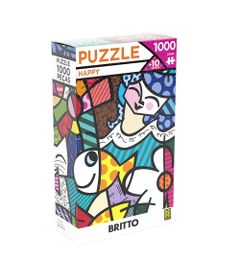 Quebra-Cabeca---1000-Pecas---Romero-Britto---Happy---Grow-0