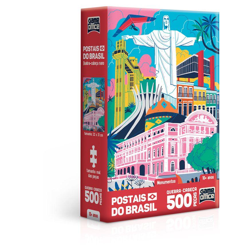 Quebra-Cabeca-Nano---500-Pecas---Postais-do-Brasil---Monumentos---Game-Office---Toyster-0