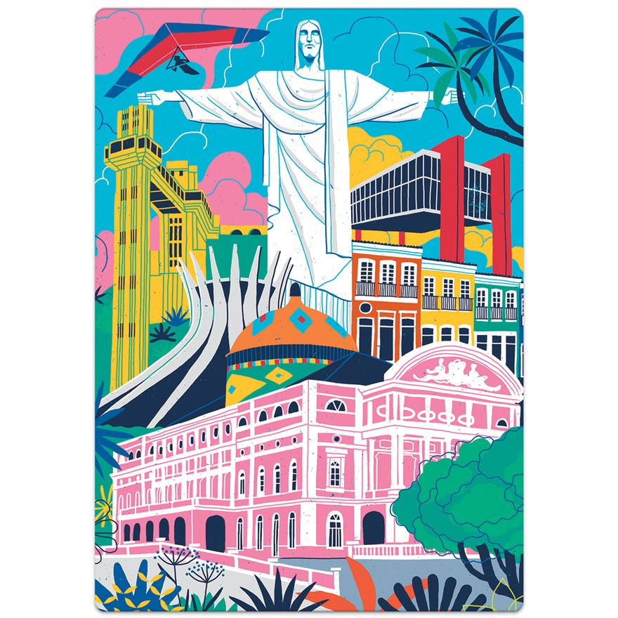 Quebra-Cabeca-Nano---500-Pecas---Postais-do-Brasil---Monumentos---Game-Office---Toyster-1