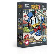 Quebra-Cabeca-Nano---500-Pecas---Disney---Mickey-Mouse---Donald---Game-Office---Toyster-0