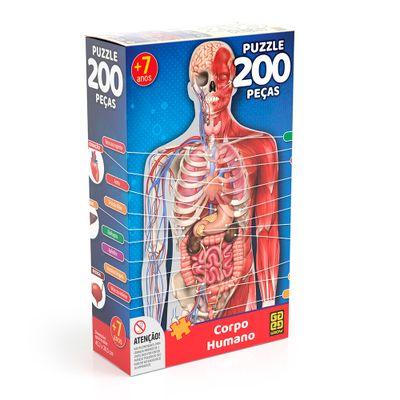 Quebra-Cabeca---200-Peas---Corpo-Humano---Grow-0