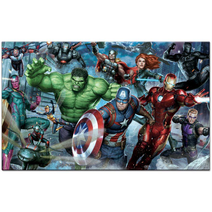 Quebra-Cabeca---2000-Pecas---Disney---Marvel---Os-Vingadores---Game-Office---Toyster-1