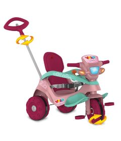 Triciclo-de-Passeio-e-Pedal---Velobaby---Reclinavel---Bandeirante-0