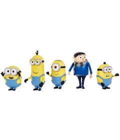 Conjunto-de-Mini-Figuras---Minions---5-Personagens---Mattel-0