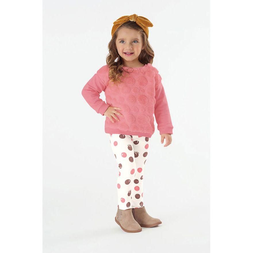 Conjunto-Infantil---Blusao-e-Legging---Algodao-e-Poliester---Poas---Rosa---Malharia-Cristina---1