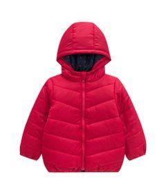 Jaqueta-Infantil-com-Capuz---100--Poliester---Poas---Vermelho---Kyly---1