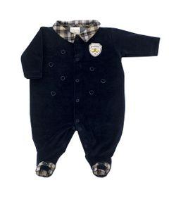 Macacao-Masculino---Algodao-e-Poliester---Bordado---Azul---Tilly-Baby---RN