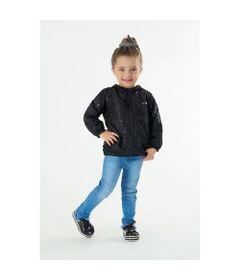 Jaqueta-Infantil-Corta-Vento---100--Poliester---Com-Brilho---Preto---Malharia-Cristina---M