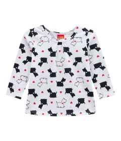 Conjunto-Infantil---Blusa-e-Legging---100--Algodao---Cachorro---Branco---Kyly---2