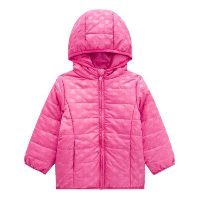 Jaqueta-Infantil-com-Capuz---100--Poliester---Coracoes---Rosa---Kyly---2