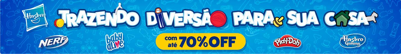 1 - Trazendo a Diversão para a Casa com a Hasbro!! Com até 70% OFF - BannerSlimTopo - Desktop - act