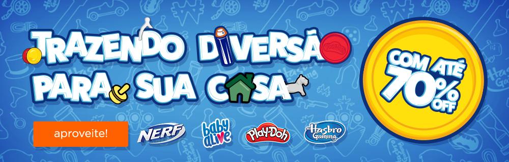 Trazendo a Diversão para a Casa com a Hasbro!! Com até 70% OFF