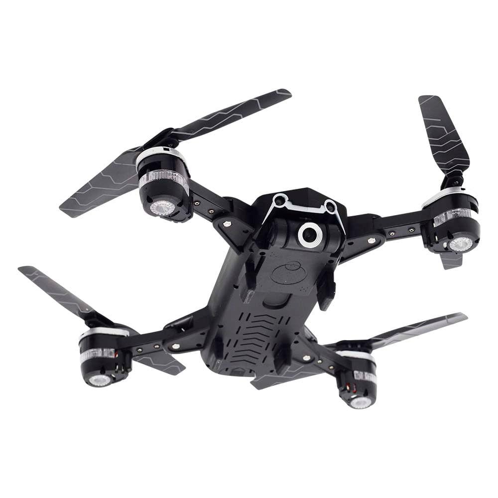 Drone Multilaser Eagle FPV Câmera HD 1280P Bateria 14 minutos Alcance de 80m Flips 360° Controle remoto Preto - ES256