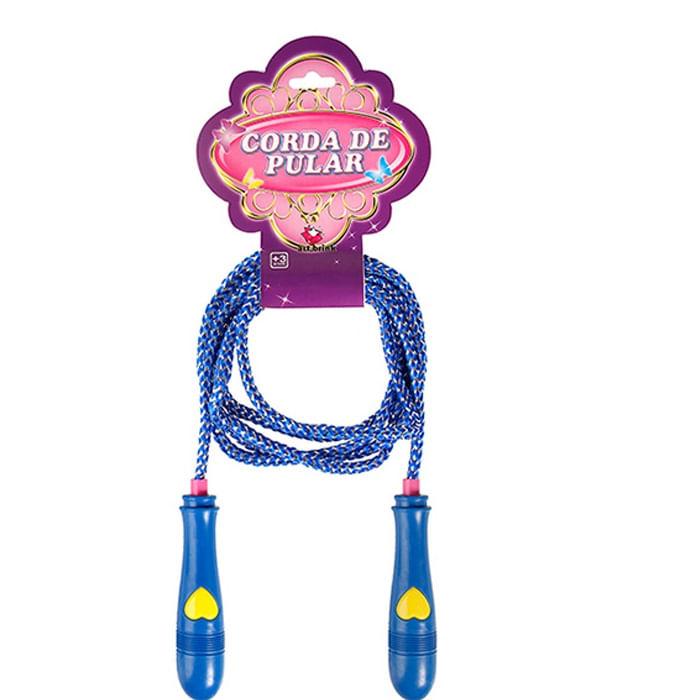 Corda de Pular - Coração - Azul - Zein