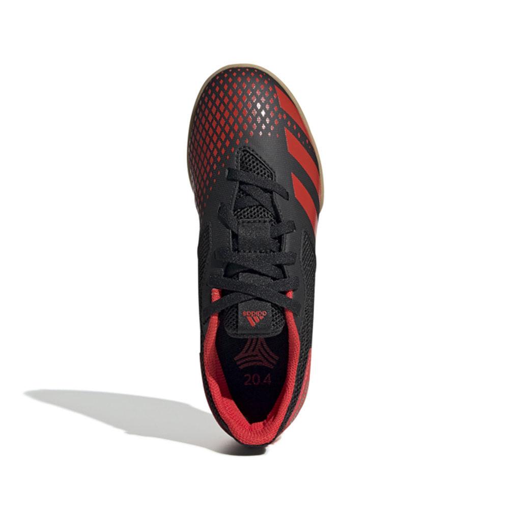 Chuteira Futsal - Predator 20 - Vermelha e Preta - Adidas