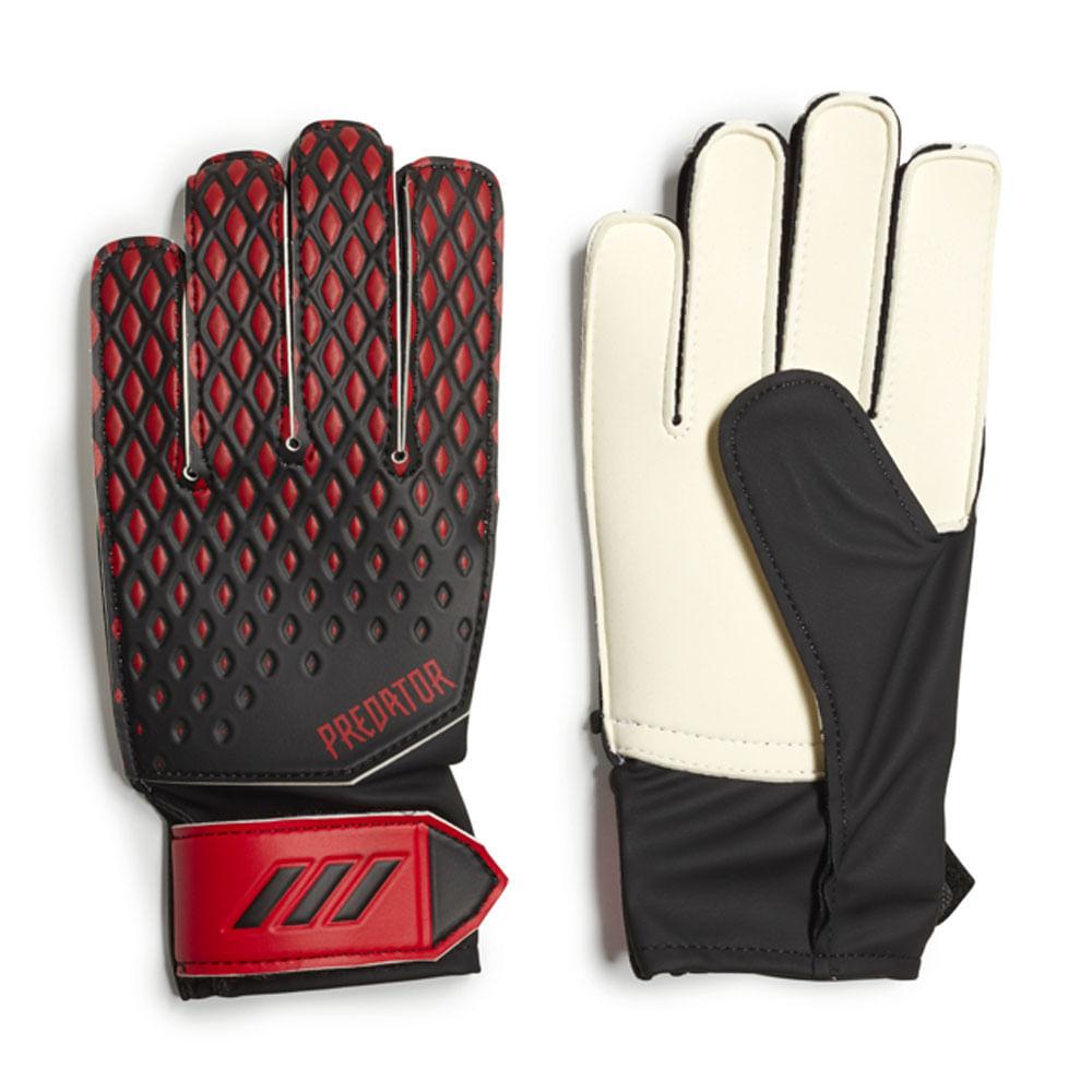 Luvas de Goleiro - Nº 6 - Jr Training - Predator - Vermelho e Preto - Adidas