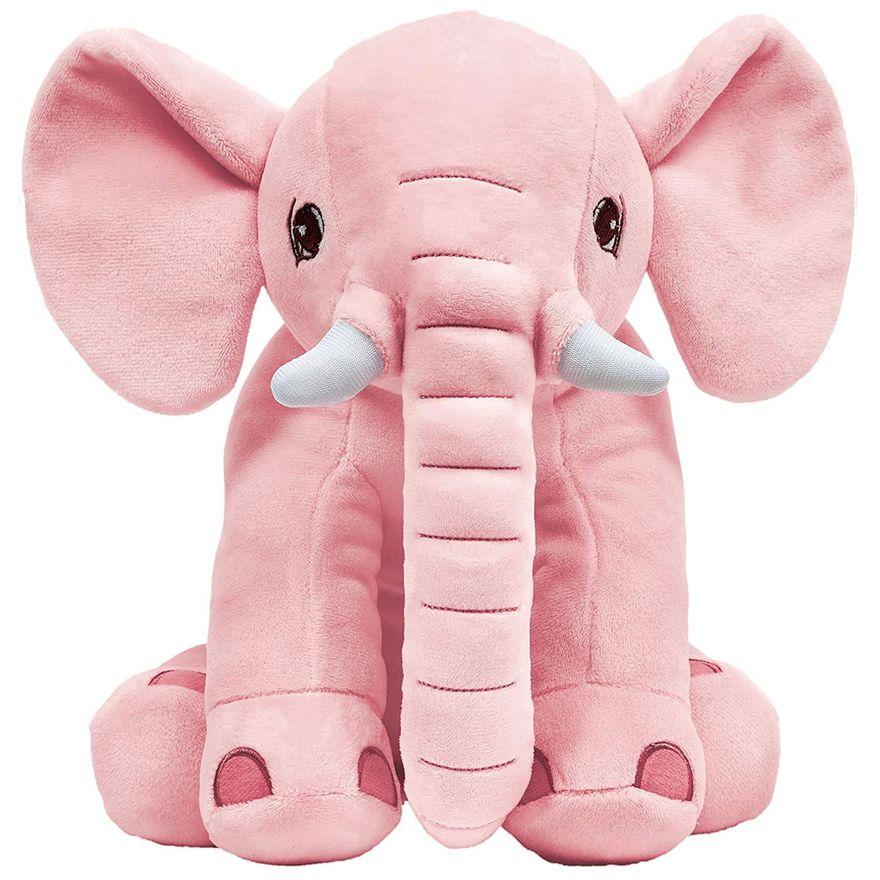 Pelucia-30Cm---Elefantinho-Rosa---Buba