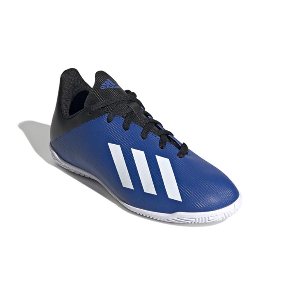 Chuteira Futsal - JR Team X 19 - Azul - Adidas - 32