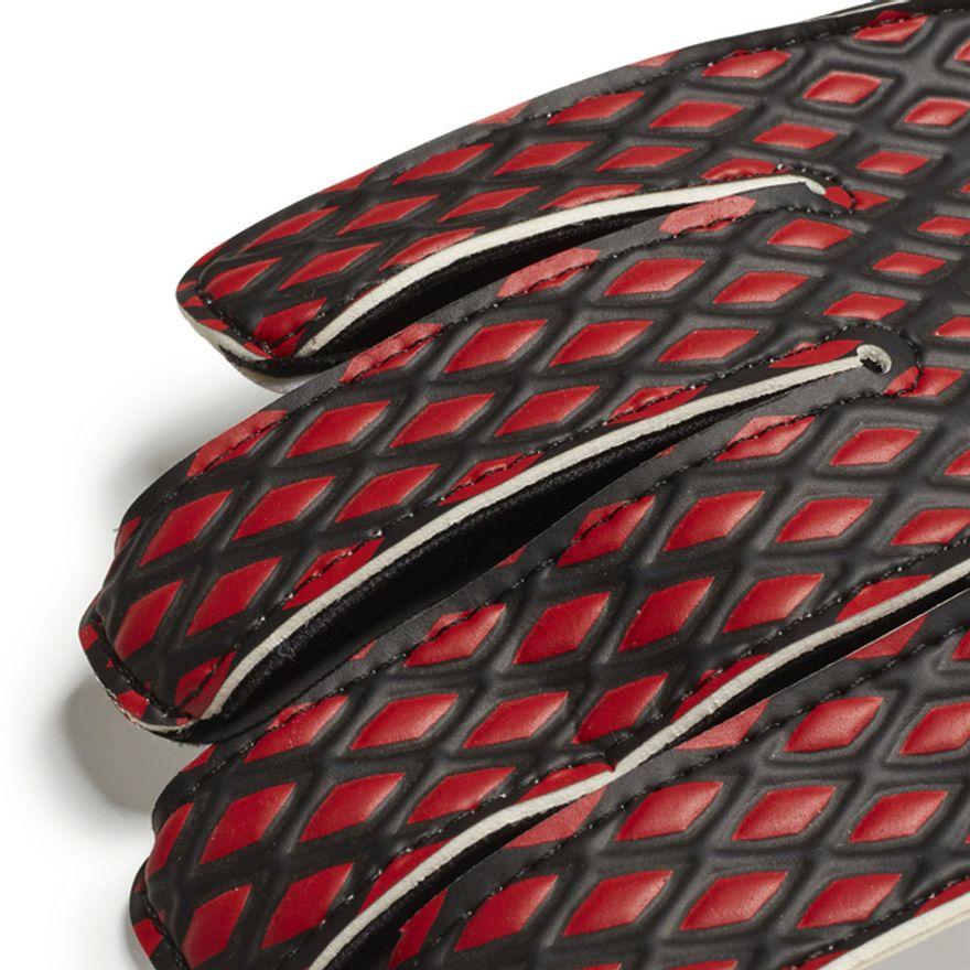 Luvas-de-Goleiro---N-6---Jr-Training---Predator---Vermelho-e-Preto---Adidas