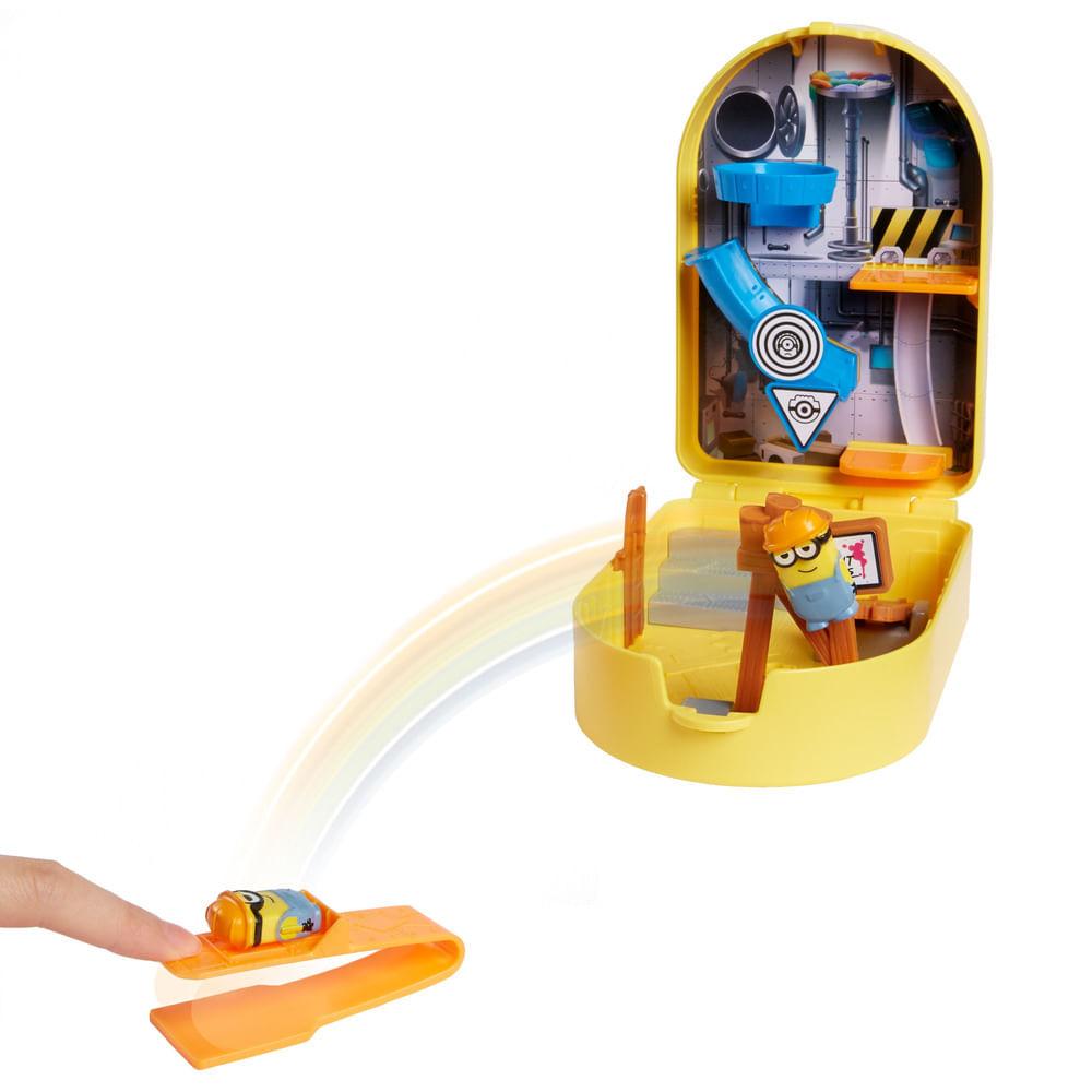 Playset e Mini Figuras - Minions - Splatapult em Construção - Mattel