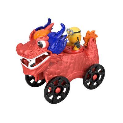 Mini-Figura-e-Veiculo---Minions-e-Dragao---Imaginext---Amarelo---Mattel-0