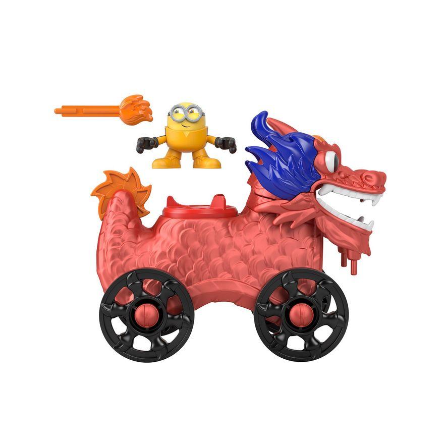 Mini-Figura-e-Veiculo---Minions-e-Dragao---Imaginext---Amarelo---Mattel-1